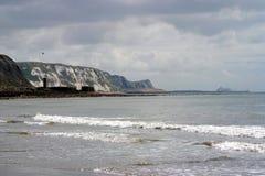 Falaises blanches de Douvres Image stock