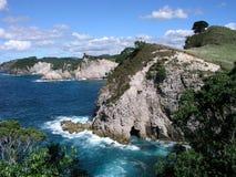 Falaises côtières Photo stock