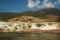 Falaises côtières Photos stock