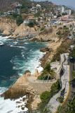 Falaises d'Acapulco image stock