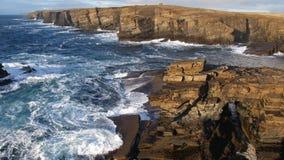 Falaises d'océan Image stock