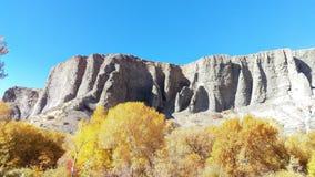 Falaises de canyon de Provo en automne photographie stock