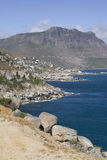 Falaises de Capetown Photographie stock libre de droits