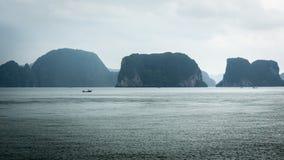 Falaises de chaux de mer d'Andaman Image libre de droits