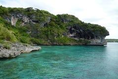 Falaise de corail Images libres de droits