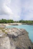 Falaises de corail sur les Iles Cayman Image libre de droits