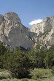 Falaises de craie du Colorado Images libres de droits