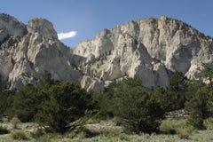 Falaises de craie du Colorado Photographie stock libre de droits