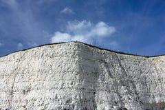 Falaises de craie, Rottingdean, East Sussex, R-U photo stock