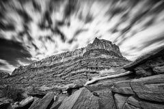Falaises de désert en Utah Images libres de droits