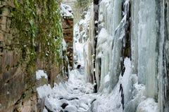Falaises de glace Image libre de droits