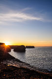 Falaises de Kilkee Photo stock