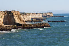 Falaises de la Californie Photo stock