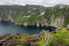 Falaises de ligue de Slieve Photo stock