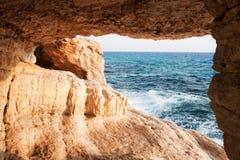 Falaises de mer Photo libre de droits
