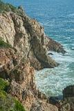 Falaises de mer Image libre de droits