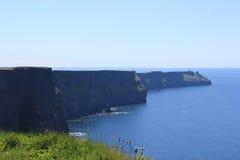 Falaises de Moher, Co Clare image stock