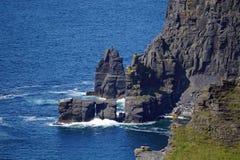 Falaises de Moher en Irlande images stock