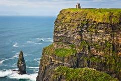 Falaises de Moher, Irlande photo libre de droits