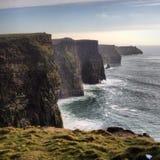 Falaises de Moher - l'Irlande Photos libres de droits