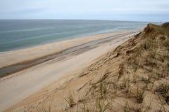 Falaises de sable Photos stock