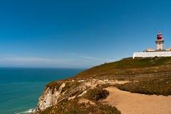 Falaises du Portugal de roca de Cabo DA Image libre de droits