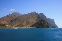 Falaises en Îles Canaries Images libres de droits