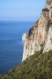 Falaises en Sardaigne Image libre de droits