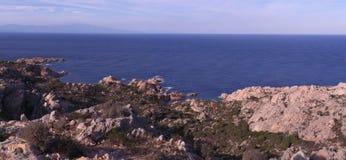 Falaises et littoral Images libres de droits