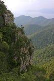 Falaises et vallées Photo stock
