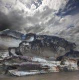 Falaises - falaises de rivage Photographie stock libre de droits