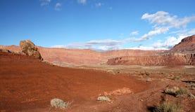 Falaises Gorge-Vermeilles région sauvage, Utah, Etats-Unis de Paria Photographie stock