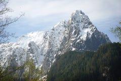 Falaises massives de montagne de Milou Photo stock