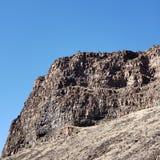 falaises raboteuses photographie stock libre de droits