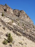 falaises raboteuses photos stock