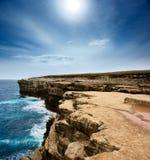 falaises raboteuses Image libre de droits