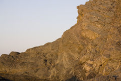 Falaises rocheuses Photographie stock libre de droits