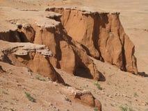 Falaises rouges de sable Photos libres de droits