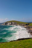 Falaises sur la péninsule de Dingle, Irlande Images stock