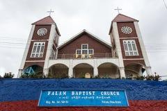 Falam施洗约翰教堂,缅甸(缅甸) 库存图片