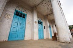 Falam施洗约翰教堂,缅甸(缅甸) 免版税库存图片