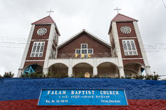 Falam Baptist Church, Myanmar (Burma) Stock Images