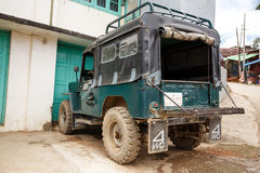 Falam, Myanmar (Birmania) Immagini Stock Libere da Diritti
