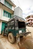 Falam Myanmar (Burman) Arkivbilder