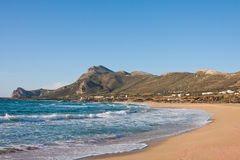 Falasarna Beach Royalty Free Stock Images