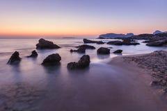 Falasarna beach, Crete island, Greece Stock Photo