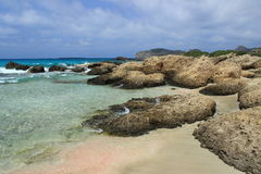 Falasarna beach, Crete Royalty Free Stock Photography