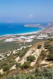 Falassarna beach Stock Images
