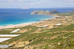 Falassarna beach, Crete Royalty Free Stock Photo