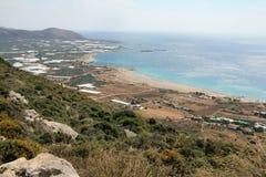 Falassarna Beach View Stock Photography